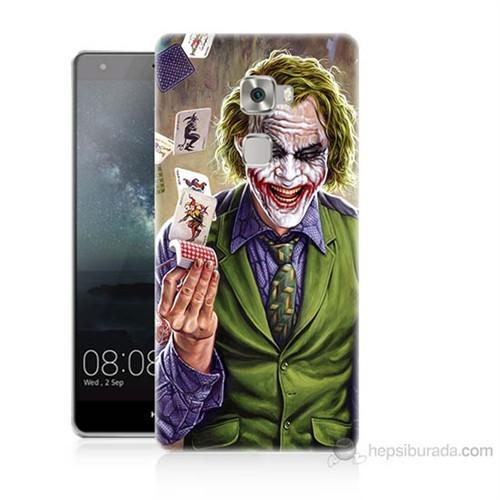 Teknomeg Huawei Ascend Mate S Kartlı Joker Baskılı Silikon Kılıf