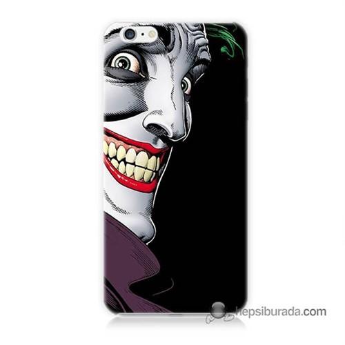 Teknomeg İphone 6S Kapak Kılıf Joker Baskılı Silikon