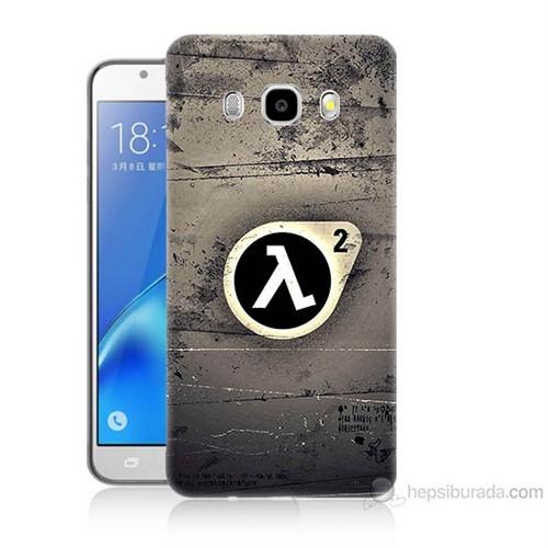 Teknomeg Samsung Galaxy J7 2016 Kapak Kılıf Half Life Baskılı Silikon
