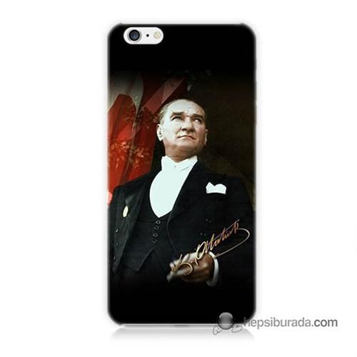 Teknomeg İphone 6 Kapak Kılıf M.K.Atatürk Baskılı Silikon