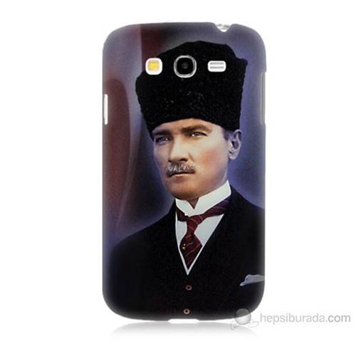 Teknomeg Samsung Galaxy Grand Duos İ9082 Mustafa Kemal Atatürk Baskılı Silikon Kılıf