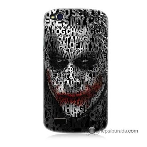 Teknomeg General Mobile Discovery Kapak Kılıf Joker Baskılı Silikon