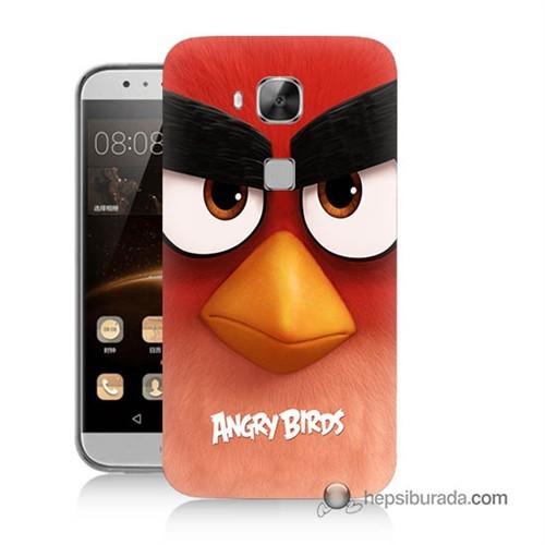 Teknomeg Huawei G8 Kapak Kılıf Angry Birds Baskılı Silikon