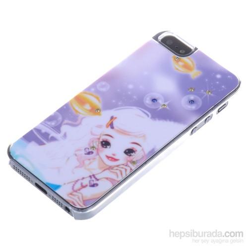 Qapak Taşlı Kapak iPhone 5/5s Renkli uz244434003061