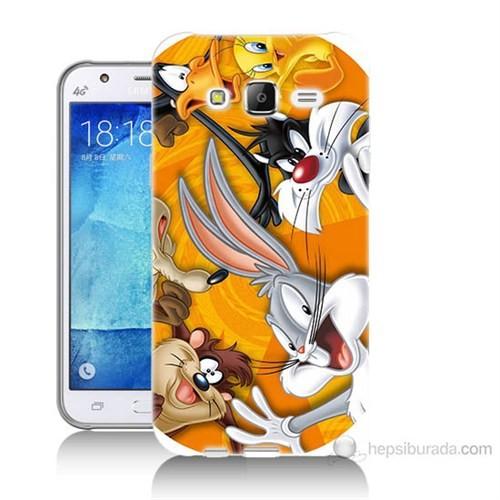 Teknomeg Samsung Galaxy J7 Kapak Kılıf Disney Karakterleri Baskılı Silikon