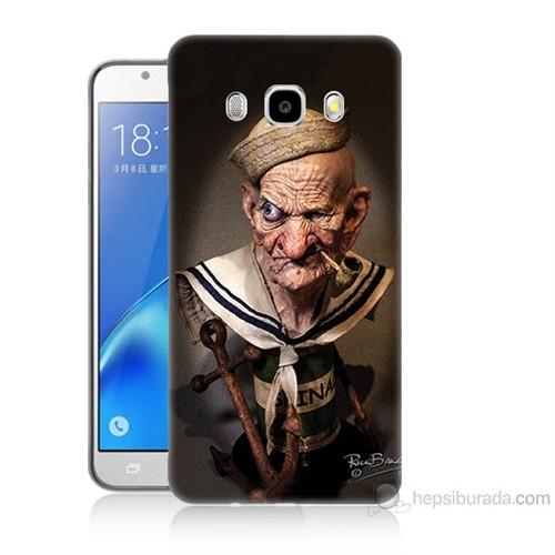Teknomeg Samsung Galaxy J7 2016 Kapak Kılıf Temel Reis Baskılı Silikon
