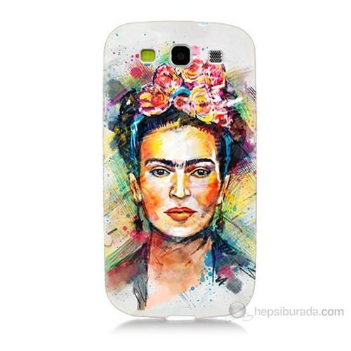 Teknomeg Samsung Galaxy S3 Frida Baskılı Silikon Kılıf