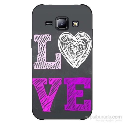 Cover&Case Samsung Galaxy J2 Silikon Tasarım Telefon Kılıfı Ccs02-J02-0044
