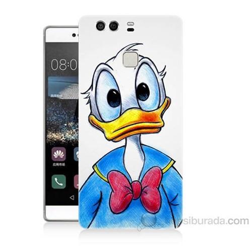 Teknomeg Huawei P9 Donald Duck Baskılı Silikon Kapak Kılıf