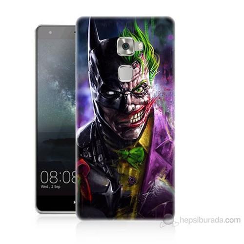 Teknomeg Huawei Ascend Mate S Batman Vs Joker Baskılı Silikon Kılıf