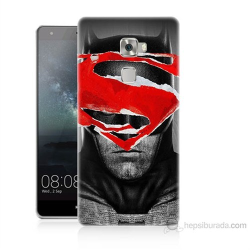 Teknomeg Huawei Ascend Mate S Batman Vs Superman Baskılı Silikon Kılıf