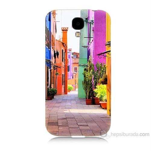 Teknomeg Samsung Galaxy S4 Sokak Baskılı Silikon Kılıf