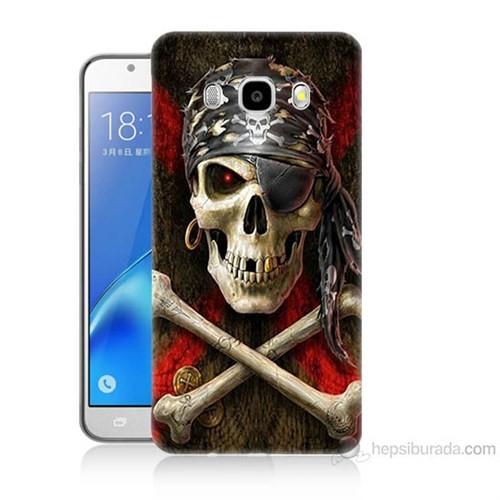 Teknomeg Samsung Galaxy J5 2016 Kapak Kılıf Korsan Baskılı Silikon