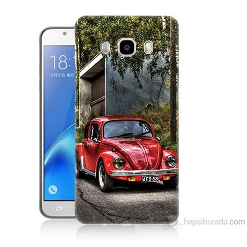 Teknomeg Samsung Galaxy J5 2016 Kapak Kılıf Volkswagen Baskılı Silikon