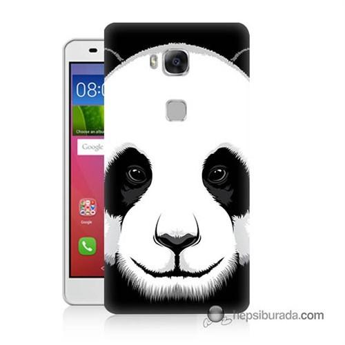 Teknomeg Huawei Gr5 Kapak Kılıf Panda Baskılı Silikon