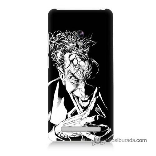 Teknomeg Asus Zenfone 5 Kapak Kılıf Gülen Joker Baskılı Silikon