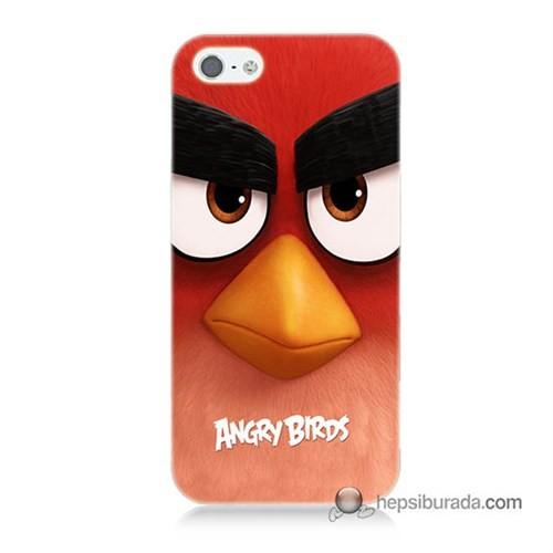Teknomeg İphone Se Kapak Kılıf Angry Birds Baskılı Silikon