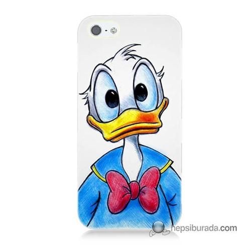 Teknomeg İphone Se Kapak Kılıf Donald Duck Baskılı Silikon