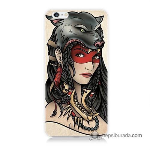 Teknomeg İphone 6S Plus Kapak Kılıf Pocahontas Baskılı Silikon
