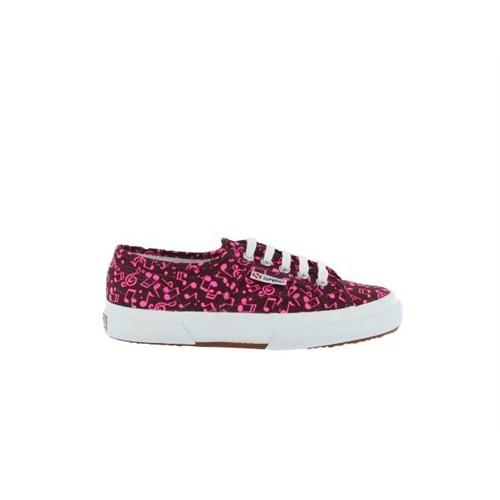 Superga S007Er0-A33 2750 Cotw Fabric 22 Fuxia Fluo Kadın Günlük Ayakkabı