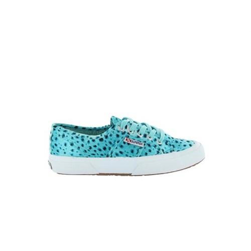 Superga S007F50-A47 2750-Paiwanimals Turquoise-Black Kadın Günlük Ayakkabı