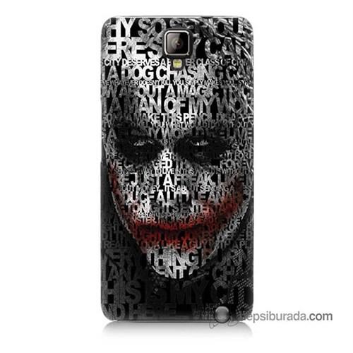 Teknomeg General Mobile Discovery 2 Plus Kapak Kılıf Joker Baskılı Silikon