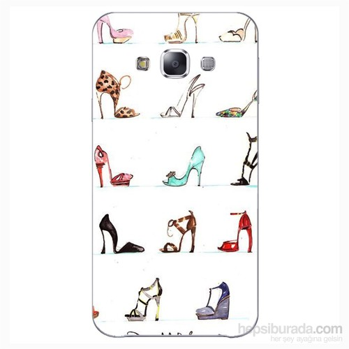 Cover&Case Samsung Galaxy E5 Silikon Tasarım Telefon Kılıfı Ccs02-E01-0007