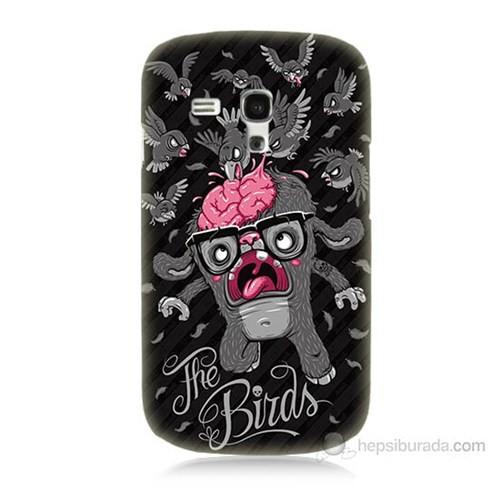 Teknomeg Samsung Galaxy S3 Mini The Birds Baskılı Silikon Kılıf