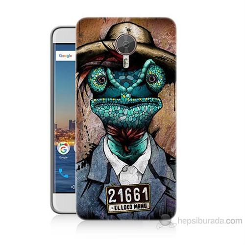 Teknomeg General Mobile Gm5 Plus İguana Adam Baskılı Silikon Kılıf