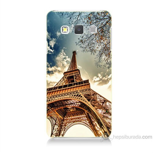 Teknomeg Samsung Galaxy A3 Eyfel Kulesi Baskılı Silikon Kılıf