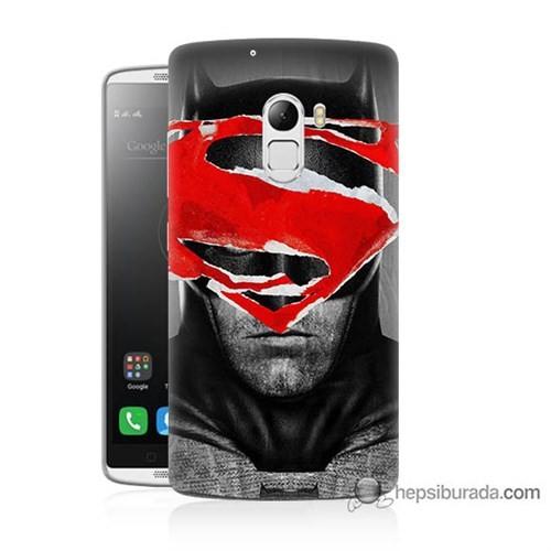 Teknomeg Lenovo A7010 Kapak Kılıf Batman Vs Superman Baskılı Silikon