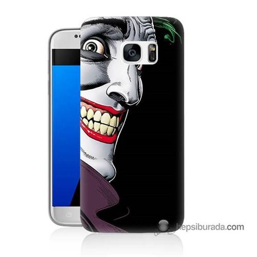 Teknomeg Samsung Galaxy S7 Kapak Kılıf Joker Baskılı Silikon