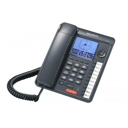 Skytech St 351 Geniş Ekran Kablolu Telefon
