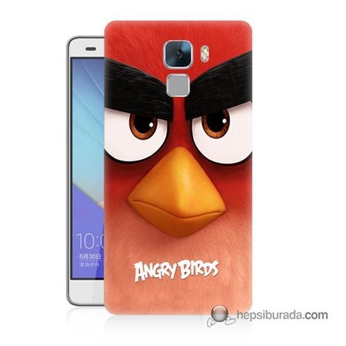 Teknomeg Huawei Honor 7 Kapak Kılıf Angry Birds Baskılı Silikon