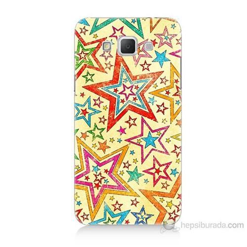 Teknomeg Samsung Galaxy Grand Max Yıldızlar Baskılı Silikon Kılıf