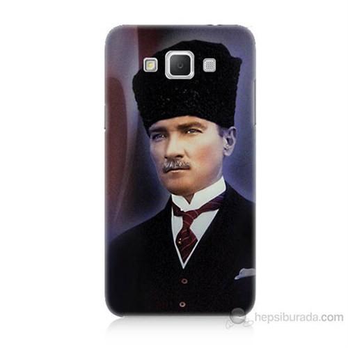 Teknomeg Samsung Galaxy Grand Max Mustafa Kemal Atatürk Baskılı Silikon Kılıf