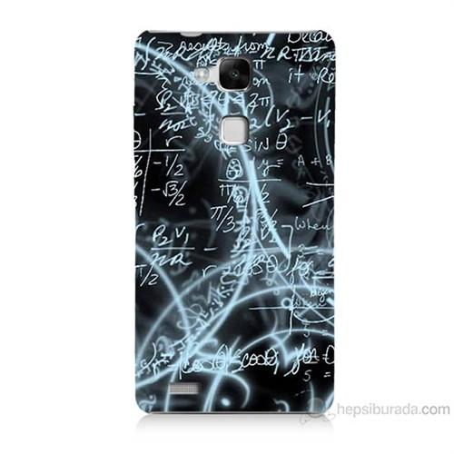 Teknomeg Huawei Ascend Mate 7 Matematik Baskılı Silikon Kılıf
