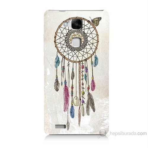 Teknomeg Huawei Ascend Mate 7 Dream Catcher Baskılı Silikon Kılıf