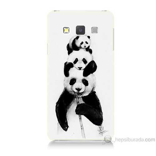 Teknomeg Samsung Galaxy A5 Panda Ailesi Baskılı Silikon Kılıf