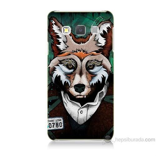 Teknomeg Samsung Galaxy A5 Bad Wolf Baskılı Silikon Kılıf