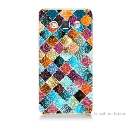 Teknomeg Samsung Galaxy A5 Kırkyama Baskılı Silikon Kılıf