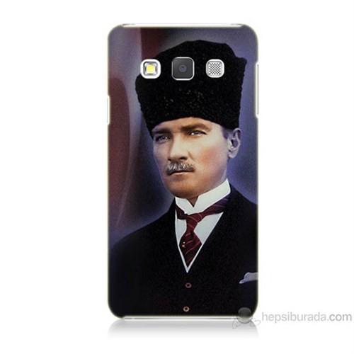 Teknomeg Samsung Galaxy A5 Mustafa Kemal Atatürk Baskılı Silikon Kılıf