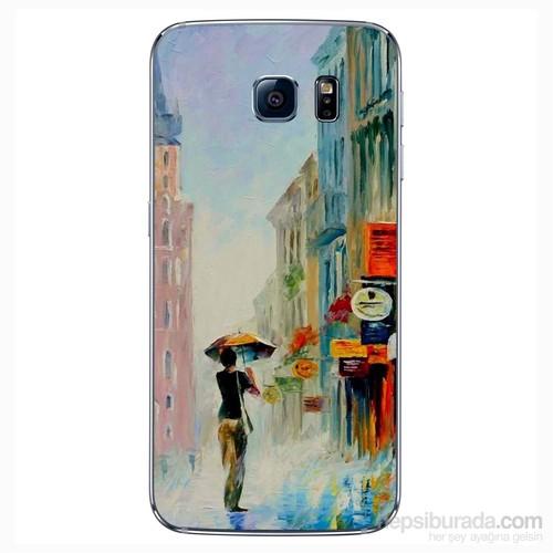 Cover&Case Samsung Galaxy S6 Silikon Tasarım Telefon Kılıfı Ccs02-S04-0183