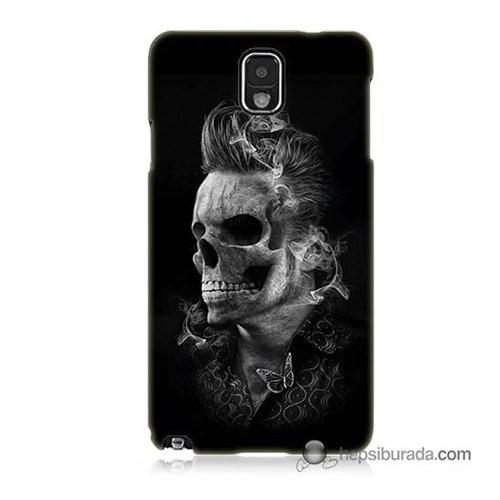 Teknomeg Samsung Galaxy Note 3 Kapak Kılıf Elvis Presley Efsanesi Baskılı Silikon