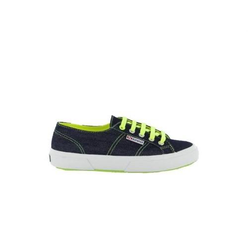 Superga S003310-935 2750 Jnscotu Blue Yellow Fluo Kadın Günlük Ayakkabı