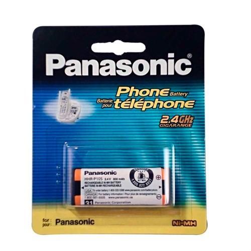 Panasonic Hhr-P105 Telsiz Telefon Pili