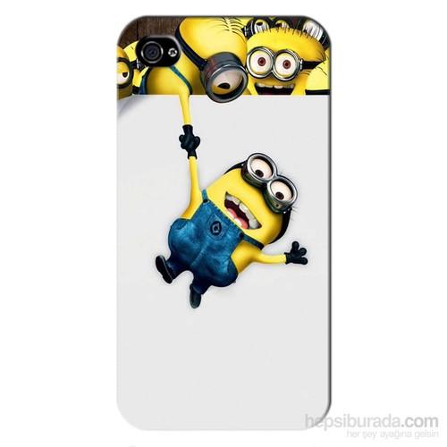 Cover&Case Apple İphone 4 / 4S Silikon Tasarım Telefon Kılıfı Ccs01-Ip01-0093