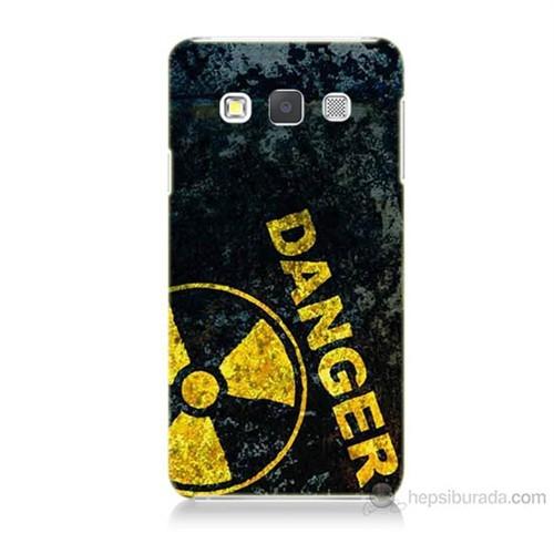 Teknomeg Samsung Galaxy A3 Kapak Kılıf Tehlikeli Baskılı Silikon