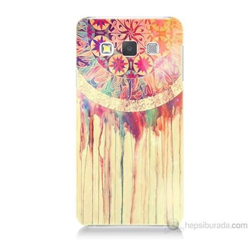 Teknomeg Samsung Galaxy A5 Kapak Kılıf Dream Catcher Baskılı Silikon