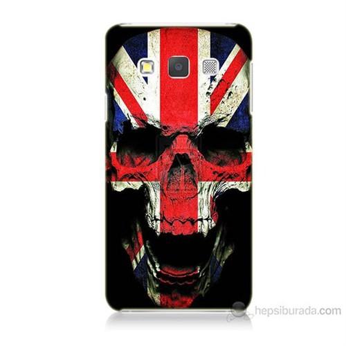 Teknomeg Samsung Galaxy A5 Kapak Kılıf İngiltere Baskılı Silikon